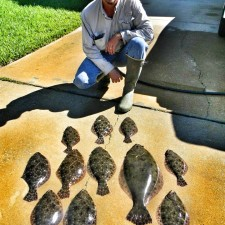 Steve with some serious Flounder