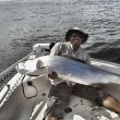 Hamid with his first Tarpon (prior to laws enacted for removing Tarpon from water)