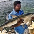 Arun with his first Tarpon (prior to laws enacted for removing Tarpon from water)
