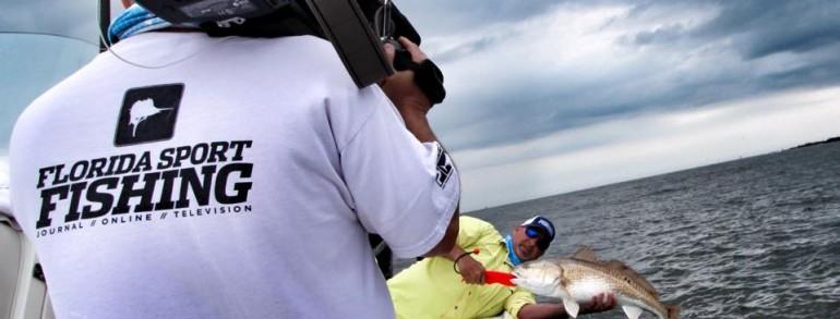 """Jacksonville Bull Reds """"Florida Sport Fishing TV"""""""