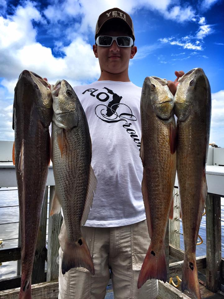 GOLD RUSH – Slot Red Massacre and a mix of Sheepshead, Trout and Flounder
