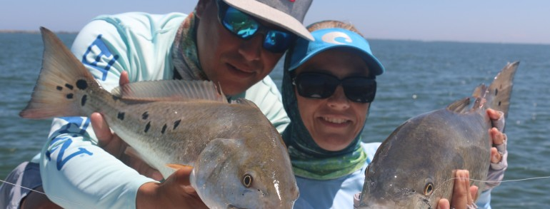 EVERYTHING INSHORE – Slot/Bull Reds, Sheepshead, Pompano and Trout