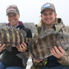 twin 6 pound Sheepshead