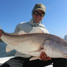 Pete with a pearly white Bull Red