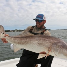 Wess Reeder with a beast of a Bull Red