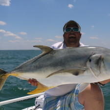 Joe Tooker with a 40+ pound Jack Crevalle