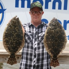 A solid pair of Summer Flounder