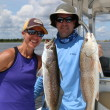 A solid Gator Trout and Upper Slot Red Fish