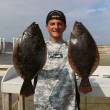 Solid pair of Summer Flounder